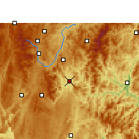 Nearby Forecast Locations - Sandu - Carte