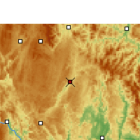 Nearby Forecast Locations - Libo - Carte