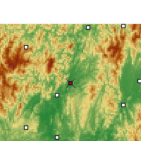 Nearby Forecast Locations - Rongan - Carte