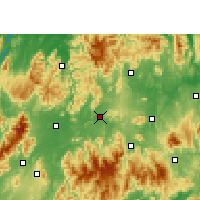 Nearby Forecast Locations - Ningyuan - Carte