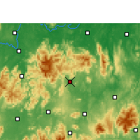 Nearby Forecast Locations - Xintian - Carte