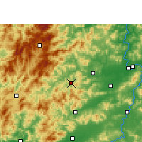 Nearby Forecast Locations - Chongyi - Carte