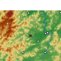 Nearby Forecast Locations - Shangyou - Carte