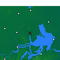 Nearby Forecast Locations - Sihong - Carte