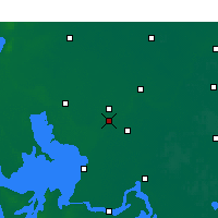 Nearby Forecast Locations - Qingjiang - Carte