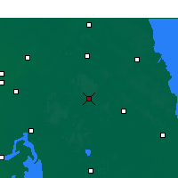 Nearby Forecast Locations - Jianhu - Carte