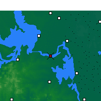 Nearby Forecast Locations - Jinhu - Carte