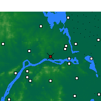 Nearby Forecast Locations - Yizheng - Carte