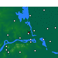 Nearby Forecast Locations - Yangzhou - Carte