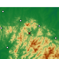 Nearby Forecast Locations - Nanxi - Carte