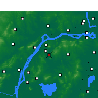 Nearby Forecast Locations - Jiangning - Carte