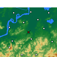 Nearby Forecast Locations - Nanling - Carte