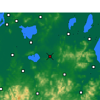 Nearby Forecast Locations - Langxi - Carte