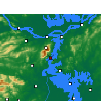 Nearby Forecast Locations - Xingzi - Carte