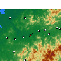 Nearby Forecast Locations - Guixi - Carte