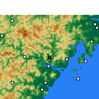 Nearby Forecast Locations - Yongjia - Carte