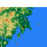 Nearby Forecast Locations - Wenling - Carte