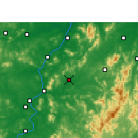 Nearby Forecast Locations - Yongfeng - Carte