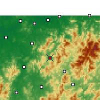 Nearby Forecast Locations - Zixi - Carte