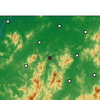 Nearby Forecast Locations - Yihuang - Carte