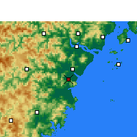 Nearby Forecast Locations - Pingyang - Carte