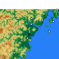 Nearby Forecast Locations - Rui'an - Carte