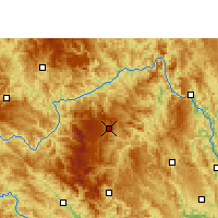 Nearby Forecast Locations - Leye - Carte
