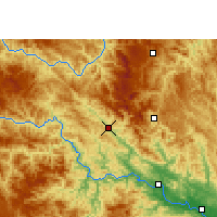 Nearby Forecast Locations - Tianlin - Carte