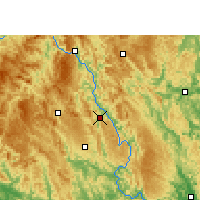 Nearby Forecast Locations - Donglan - Carte