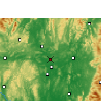 Nearby Forecast Locations - Shatang - Carte