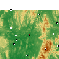 Nearby Forecast Locations - Luan - Carte