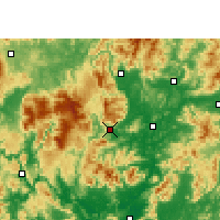 Nearby Forecast Locations - Ruyuan - Carte