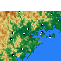 Nearby Forecast Locations - Longhai - Carte