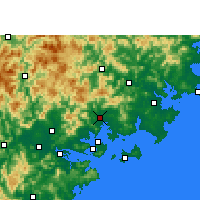 Nearby Forecast Locations - Tong'an - Carte