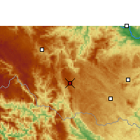 Nearby Forecast Locations - Napo - Carte