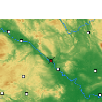 Nearby Forecast Locations - Pingguo - Carte