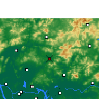 Nearby Forecast Locations - Conghua - Carte