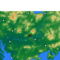 Nearby Forecast Locations - Boluo - Carte
