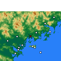Nearby Forecast Locations - Raoping - Carte