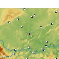 Nearby Forecast Locations - Fushun - Carte