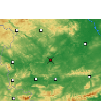 Nearby Forecast Locations - Chongzuo - Carte