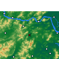 Nearby Forecast Locations - Xinxing - Carte
