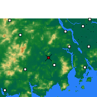 Nearby Forecast Locations - Kaiping - Carte