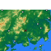 Nearby Forecast Locations - Enping - Carte