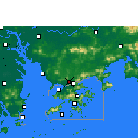Nearby Forecast Locations - Shenzhen - Carte