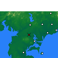 Nearby Forecast Locations - Suixi/GUD - Carte