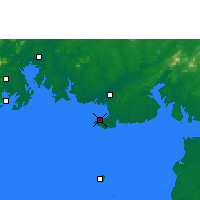 Nearby Forecast Locations - Beihai - Carte