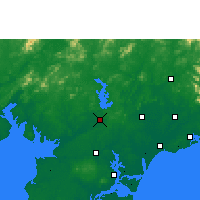 Nearby Forecast Locations - Lianjiang - Carte