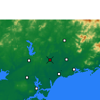 Nearby Forecast Locations - Huazhou - Carte