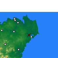 Nearby Forecast Locations - Wenchang - Carte